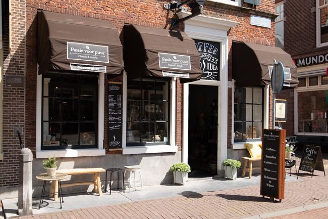 Winkel Gedempte Oude Gracht Haarlem