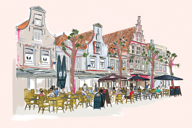 Tekening Haarlem Kopen