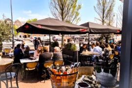 Turfmarkt Haarlem terras