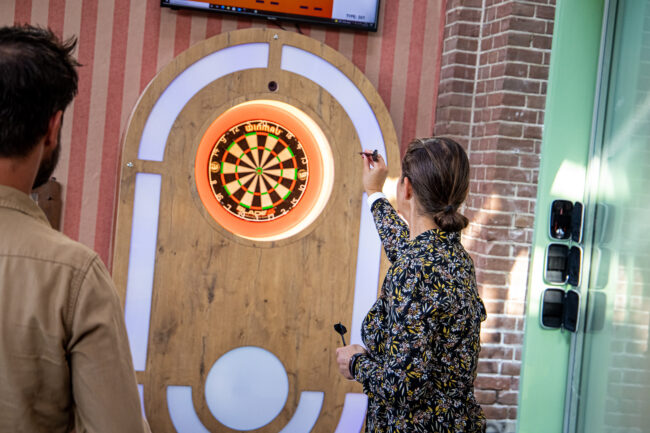 Interactieve darts