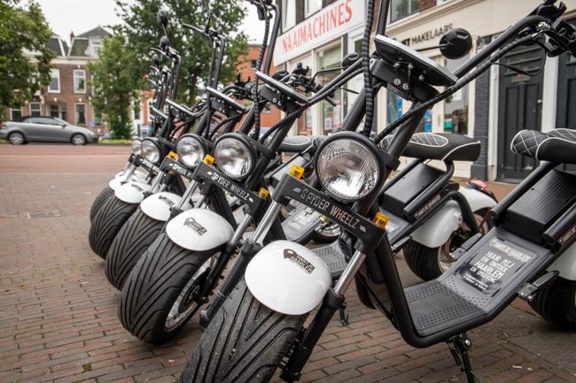 E-chopper huren Haarlem
