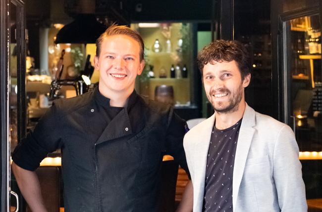 Bas Mol en Wouter Stevenhaagen