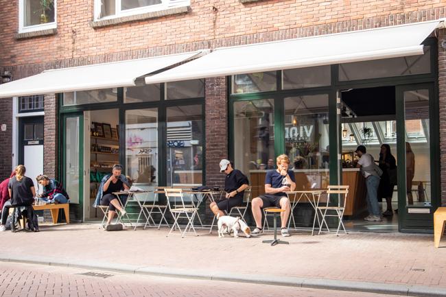 Koningstraat terras
