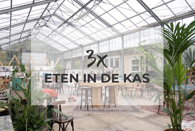 3x eten in de kas Haarlem