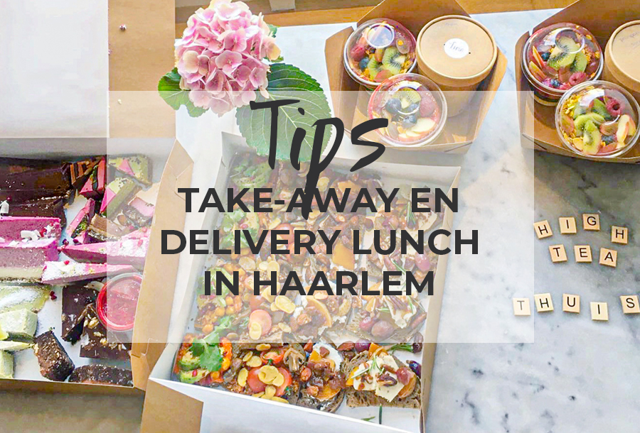 Tips: take-away en delivery lunch in Haarlem