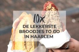 Lekkerste broodjes to go lunch Haarlem
