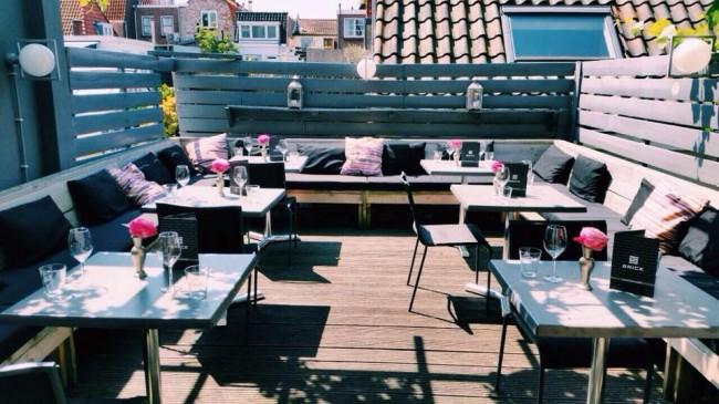 Verborgen terrassen haarlem city