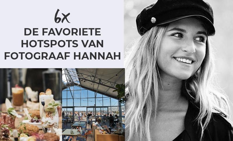 Meet us! De favoriete hotspots van fotograaf Hannah