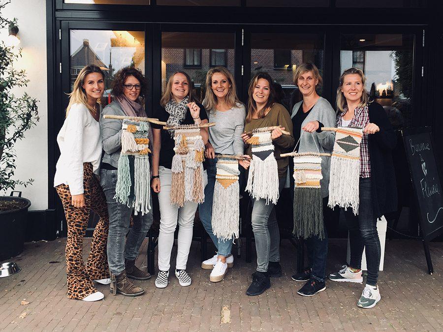 Haarlem City Blog workshop: wandkleed weven