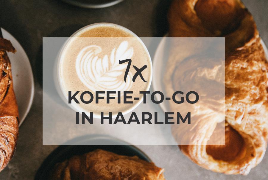 7x Koffie-to-go in Haarlem