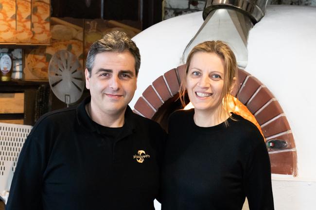 Antonino en Fernanda Pizzicotto