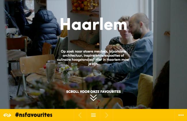 NS favorites Haarlem